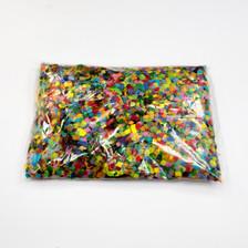 multicolor confetti