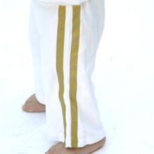 Baby Track Pants - Gold Stripes