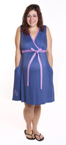 Blueberry Pie Hospital Labor and Delivery Gown