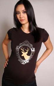 Hip Stag Maternity Tee