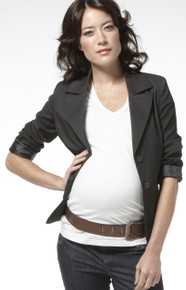 Lisbon Black Maternity Suit Jacket