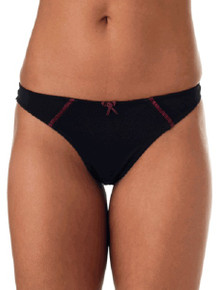 Elize Thong Underwear - Black or Aqua
