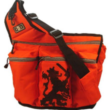 Orange Lion Diaper Bag