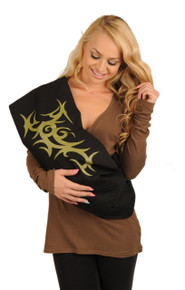 Tribal Baby Sling - Olive