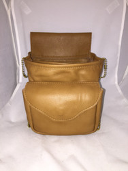 Delux Soft Double Pouch- Tan