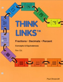 Think Links Fractions • Decimals • Percent, 51 pages, gr. 3-6