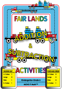 Fair Lands™ Addition & Subtraction Activities, 120 pages, K-6