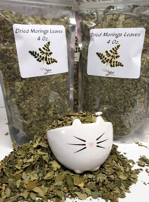 SALE!!  Dried Loose Moringa Leaves (32 Oz)