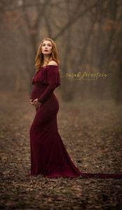 Anka Maternity Gown