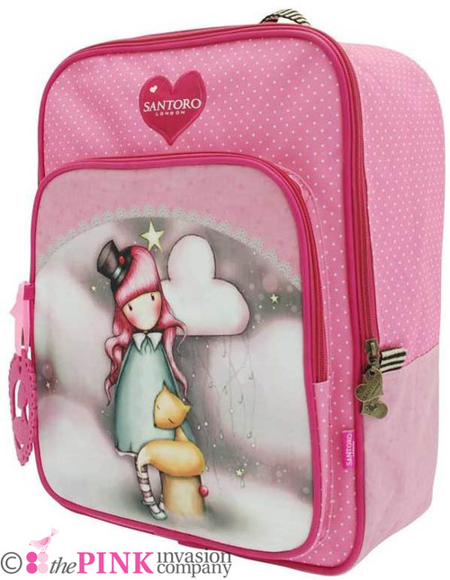 GORJUSS THE DREAMER SQUARE LARGE RUCKSACK BAG PADDED STRAPS SANTORO