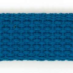 "1"" Cotton webbing ROYAL - 60207-00003"