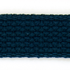 "1"" Cotton webbing NAVY - 60207-00008"