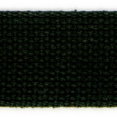 "2""  Cotton webbing  BLACK - 60216-00001"