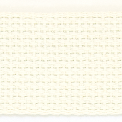 "2""  Cotton webbing  WHITE - 60216-00002"