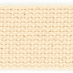 "2""  Cotton webbing  NATURAL - 60216-00003"