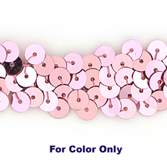 6MM cup sequins strings DARK PINK - 09072-00020