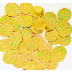 20MM flat loose sequin bag SPOT GOLD - 09080-00032