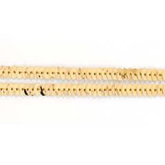 6MM Flat Sequin slung GOLD - 09000-0003
