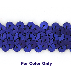 8MM cup sequin strings PLUM - 09073-00010