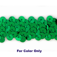 10MM cup sequin strings KELLY - 09074-00007