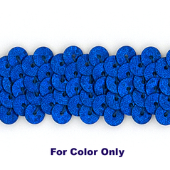 10MM cup sequin strings SPOT ROYAL - 09074-00043