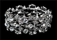 Stunning Swarovski Crystal Swirl Wedding Bridal Prom Bracelet WB930
