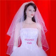 "Bridal Veil Swarovski Crystals 3 tiers 25""x30''x35'' 35R3"