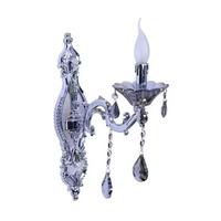WAL00490 - Al Masah Crystal Candlelit Wall Light