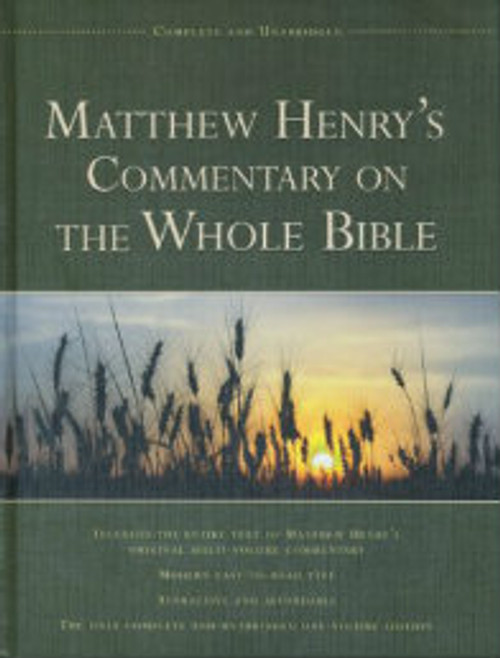 Matthew Henry's Commentary on the Whole Bible Unabridged (Hardcover)