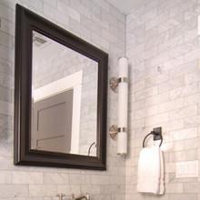 Bianca Carrara Marble Subway 300x75mm