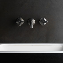 Chisel Cross - Wall tap and Wall Basin Outlet
