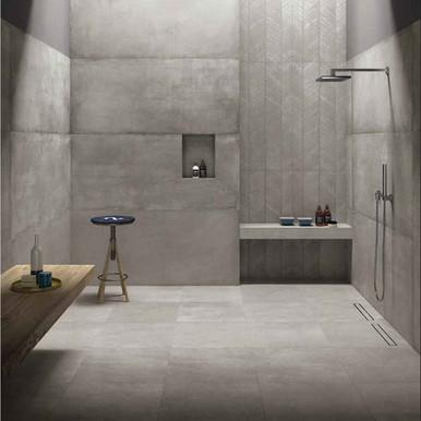concrete prima materia yeomans bagno ceramiche