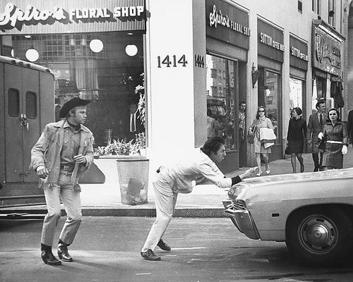 This is an image of 176285 Midnight Cowboy Photograph & Poster