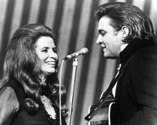 This is an image of 186476 Johnny Cash and June Photograph & Poster