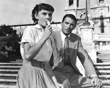 This is an image of 186510 Roman Holiday Photograph & Poster