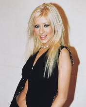 This is an image of 242434 Christina Aguilera Photograph & Poster