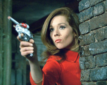 This is an image of 268038 Diana Rigg Photograph & Poster
