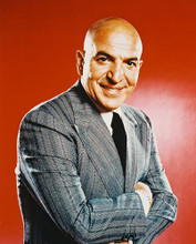 This is an image of 210303 Telly Savalas Photograph & Poster