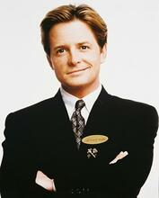This is an image of 210416 Michael J.Fox Photograph & Poster