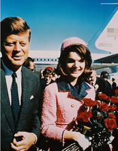 This is an image of 212485 John F.Kennedy Photograph & Poster