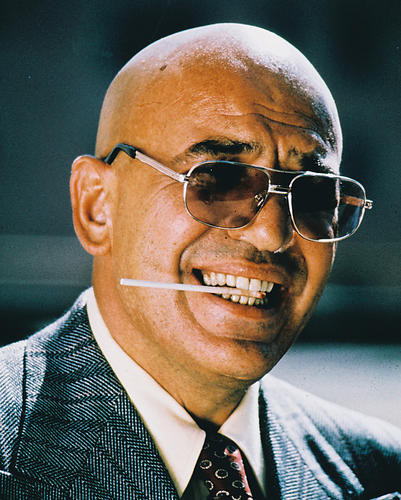 This is an image of 213679 Telly Savalas Photograph & Poster