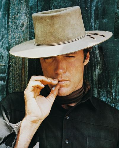 This is an image of 214427 Clint Eastwood Photograph & Poster