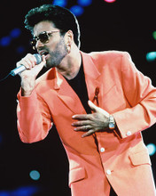 This is an image of 215860 George Michael Photograph & Poster