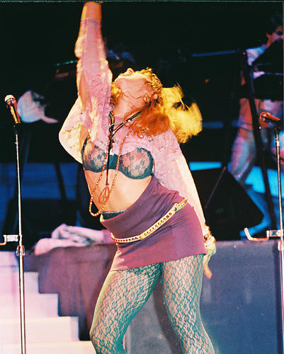 This is an image of 216217 Madonna Photograph & Poster