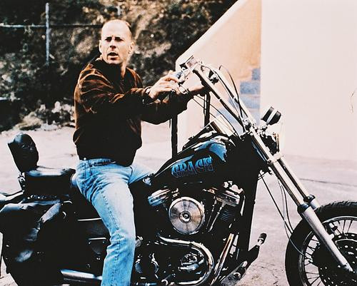 This is an image of 213990 Bruce Willis Photograph & Poster