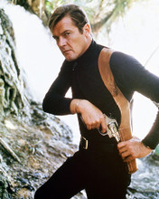 This is an image of 220669 Roger Moore Photograph & Poster