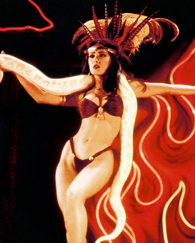 This is an image of 222156 Salma Hayek Photograph & Poster