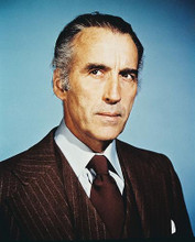 This is an image of 224486 Christopher Lee Photograph & Poster