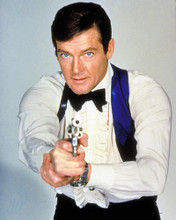 This is an image of 235119 Roger Moore Photograph & Poster