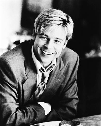 This is an image of 168101 Brad Pitt Photograph & Poster